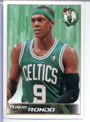 (2012 Panini NBA Basketball Sticker (2012-13) #2 Rajon Rondo)