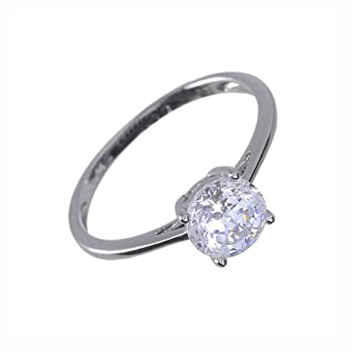 Ivy Gems 9ct Yellow Gold 1.25ct Finest 100 Cut Swiss Cubic Zirconia Round Trilogy Ring th67yZjSr5