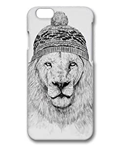 iPhone 6 Case, iCustomonline Winter is Coming - Lion Protective Case Cover for iPhone 6 4.7