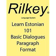 Learn Estonian Conversation 101 Basic Dialogues Paragraph Format