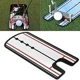 Golf Putting Mirror - Golf Putting Alignment Mirror - Golf Putting Posture Corrector Practice Training Eyeliner Alignment Trainer (Putting Mirror Eyeline Golf)