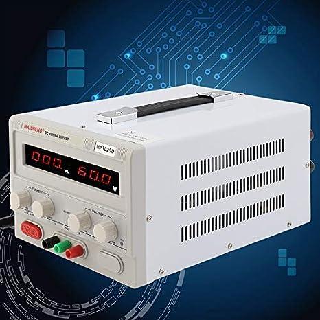 Alimentatore da banco CC regolabile variabile HaoFst 0-30V 0-20A
