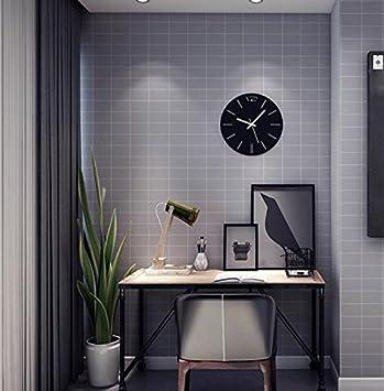 Cczxfcc Nordic Style Clothing Store Wallpaper Gitter Hintergrund Wand  Einfache Moderne Mode Gestreifte Tapete