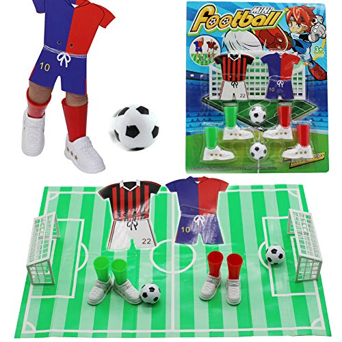 (Alasida Finger Football Game Sets with Two Goals Funny Family Party Finger Soccer)