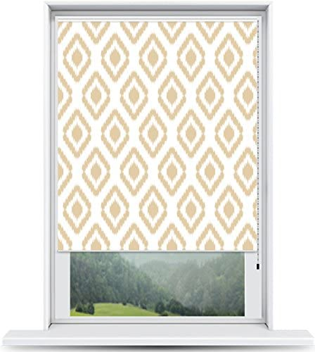 ShadePix Window Shade – Blackout Window Shade with Available in Size 23 x 36 Ikat Beige