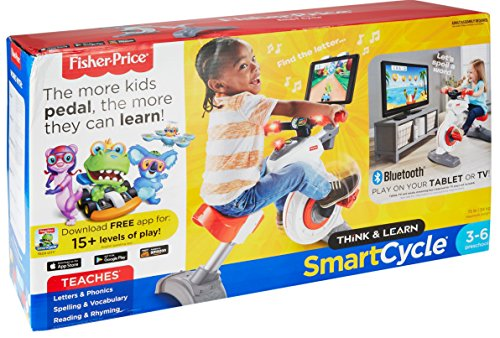 51iAhoZ7ESL - Fisher-Price Think & Learn Smart Cycle