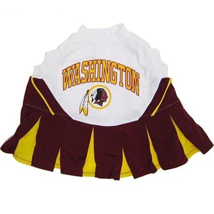 Amazon.com   NFL Washington Redskins Burgundy-Gold Pet Cheerleader ... 99dc119b4