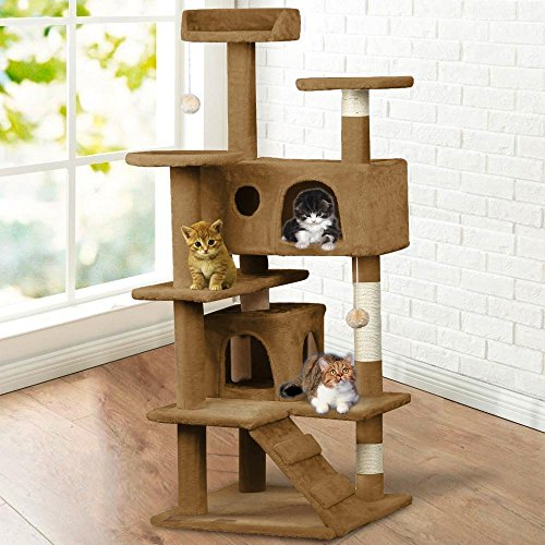 Yaheetech-52-Cat-Tree-Tower-Condo-Furniture-Scratch-Post-Kitty-Pet-House-Play
