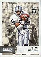 2016 Classics Oakland Raiders Football Card #125 Tim Brown