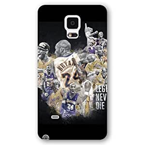 For Iphone 6Plus 5.5Inch Case Cover over - Diy Black Frosted For Iphone 6Plus 5.5Inch Case Cover , NBA Superstar Lakers Kobe Bryant For Iphone 6Plus 5.5Inch Case Cover