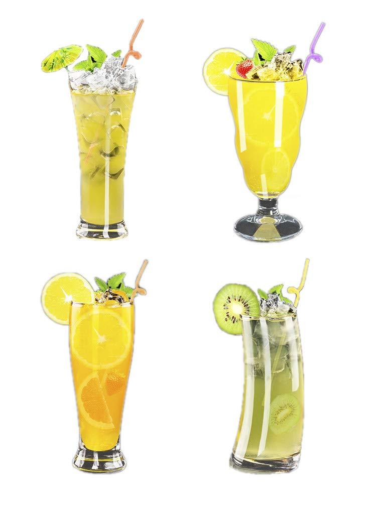 Glass Cup Juice Cup Cold Drink Tea Lead-free Transparent Dessert Salad Milk Home Creative Drink Ice Cream Milkshake Drink Cup
