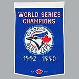 MLB Toronto Blue Jays Mens Toronto Jays Banner, Large
