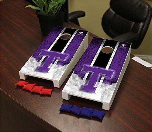 Tarleton State Texans Desktop Mini Cornhole Game Set (Texans Corn Hole Bags compare prices)