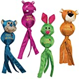 KONG Wubba Ballistic Friends Dog Toy, X-Large, Single toy/ Assorted