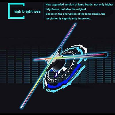 ESZH Proyector Holograma 3D, 3D Holografico Fan Holograma ...