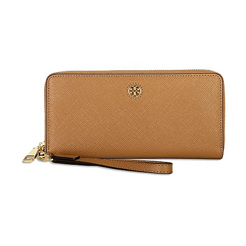 Tory Burch Women's Perry Zip Passport Continental Wallet, Tiger's Eye, One (Tigers Eye Handbag)