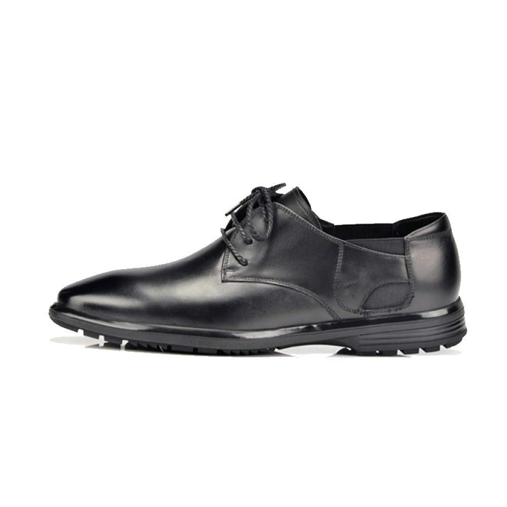 ZQZQ Spitze British Männer Formelle Kleidung Business British Spitze Breathable Lace schwarz 662bc2