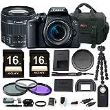 Canon EOS Rebel T7i DSLR Camera w/18-55mm lens & 32GB Accessory Bundle