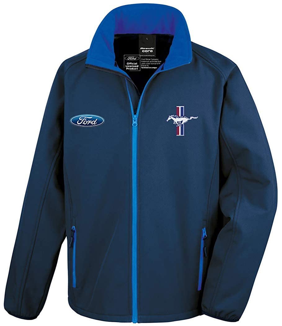Official Licensed Ford Mustang Softshell Race Jacket