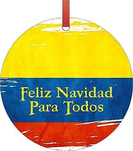 Fotos De Colombia En Navidad.Amazon Com Max Wilder Flag Colombia Colombian Flag Feliz