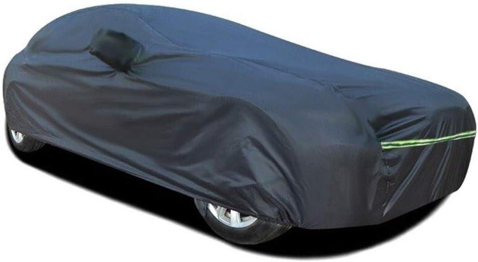 Color : Black, Size : Super V8 und Outdoor-Car-Cover Kompatibel mit Jaguar All Modelle HH/&WW Wasserdicht Car Cover-Staub-Beweis-Auto-Kasten-Schwarz-Auto-Abdeckung Indoor