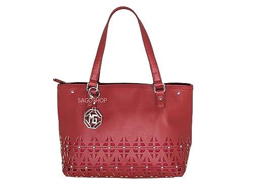 wholesale dealer 225c6 65c6c MARINA GALANTI Borsa a spalla donna colore rosso tracolla ...