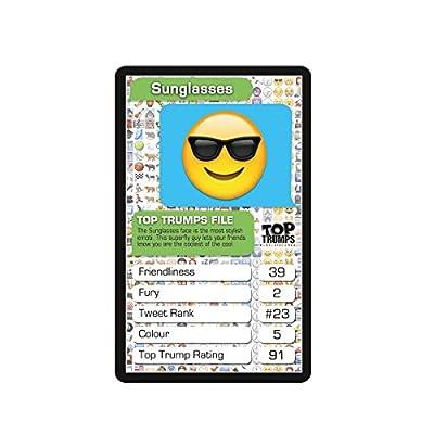 Emotis Top Trumps Card Game: Toys & Games