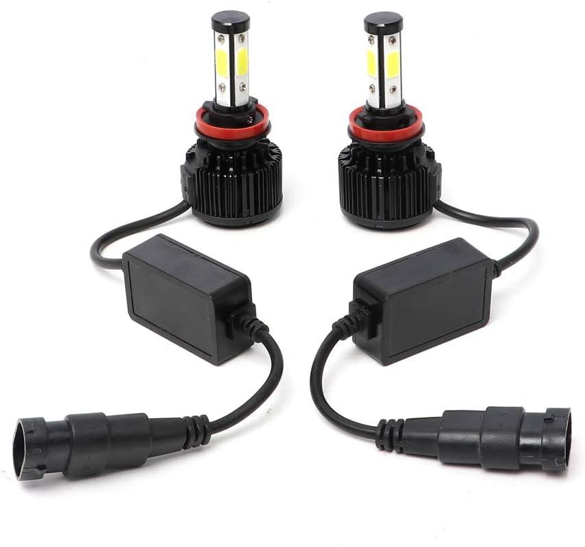 20000 LM Each Bulb//40000 LM Each Set,Color Temperature 6000 K Cool White Double Beam DRL Fog Light GZwdflife 2Pcs 9005 LED Headlight Bulbs Conversion Kit HB3//H10 Car Headlamp Bulbs Lumens Brightness