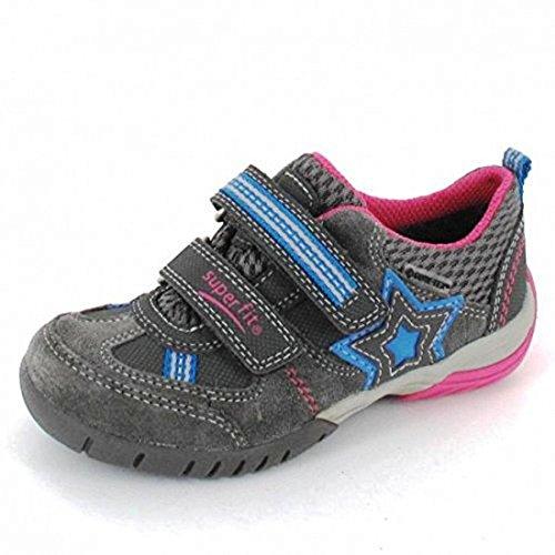 Superfit - Zapatillas de Piel para niño Gris gris De alta calidad ... 2b44788fc3f