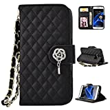 iPhone 5/5S Case, iPhone 5/5S Case Wallet,Kmety Premium PU Leather Flip Carrying Magnetic Closure Protective Shell Wallet Case Cover for iPhone 5/5S with Kickstand Stand