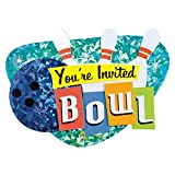 Bowling Alley Novelty Invitations - 8 Count