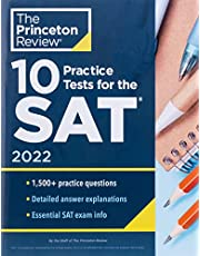 10 Practice Tests for the SAT, 2022: Extra Prep to Help Achieve an Excellent Score (2021)