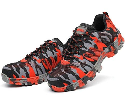 GUDUN Breathable Steel Toe Shoes for Men Steel Toe Sneakers Steel Toe Boots for Men (9-15 to delivery) (US Men 9, GD01) by GUDUN (Image #3)
