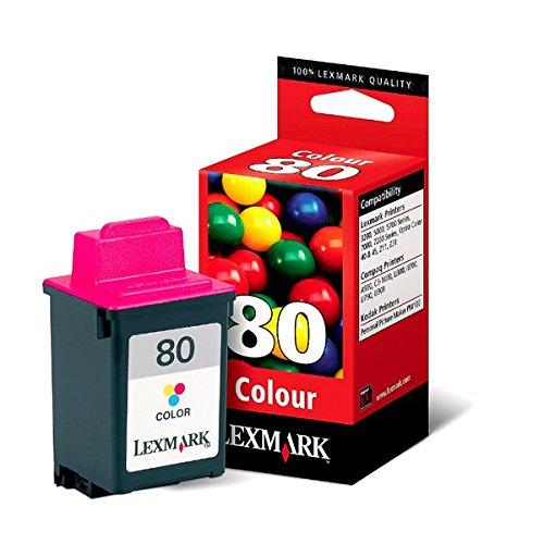 (Lexmark 12A1980 Color Inkjet Print Cartridge)