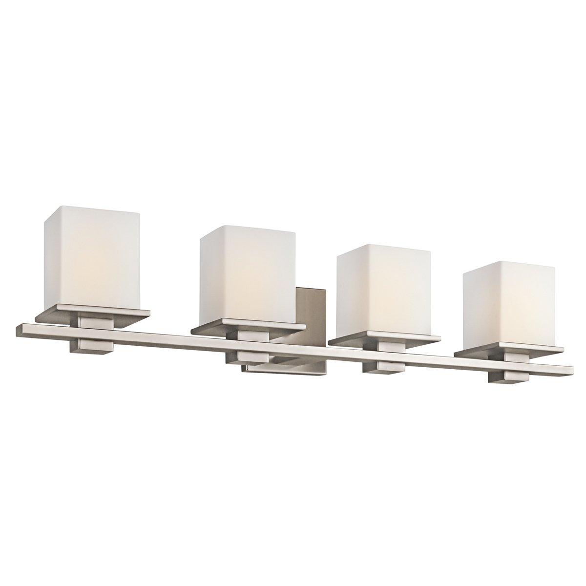 Kichler 45152ap four light bath vanity lighting fixtures amazon arubaitofo Image collections