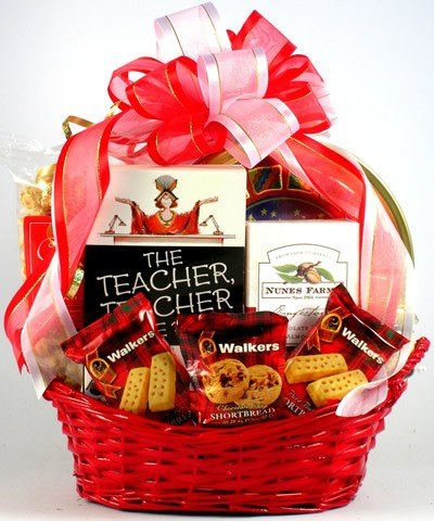 Amazon.com  Gift Basket Village For The Teacher Gift Basket  Gourmet Snacks And Hors Doeuvres Gifts  Grocery u0026 Gourmet Food & Amazon.com : Gift Basket Village For The Teacher Gift Basket ...