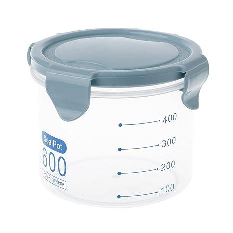 SimpleLife Dispensador del envase de la Caja de Almacenamiento del arroz de la Haba del Grano