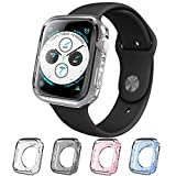 Apple Watch 4 Case 40mm, i-Blason [Halo] TPU Cases [4 Color Combination Pack] [Compatible with Apple Watch Series 4 2018] (40 mm)