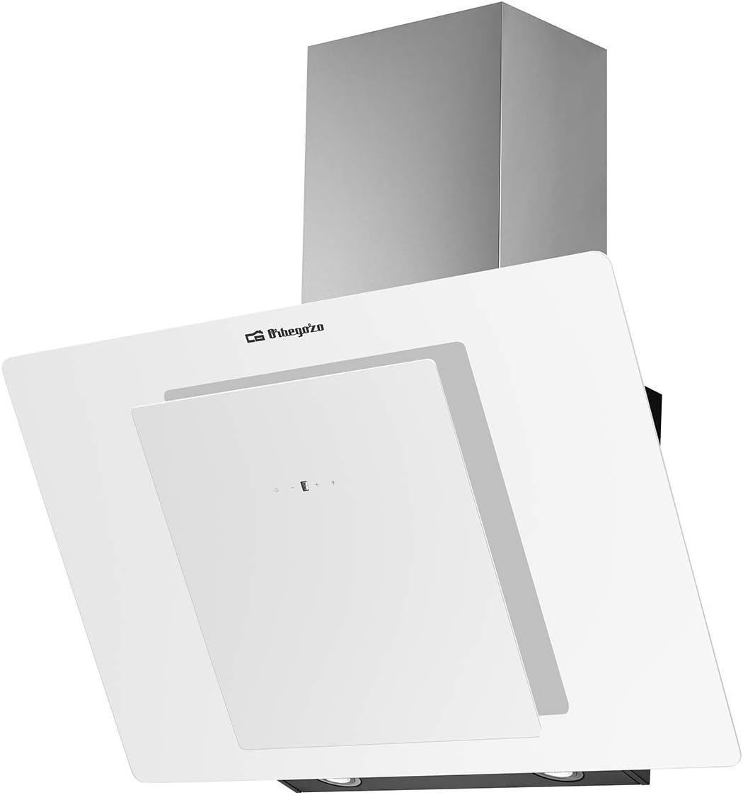 Orbegozo DS 75190 BL iluminaci/ón LED capacidad de extracci/ón 579 m3//h Campana extractora decorativa 90 cm frontal de cristal templado 3 niveles de potencia