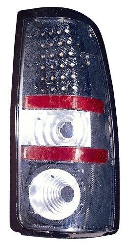 Depo 335-1916PXAS3 Carbon Fiber Fleetside LED Tail Light Assembly