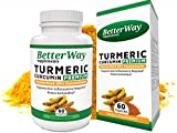 Organic Tumeric Curcumin Supplement with Bioperine – Anti-Inflammation Antioxidant and Joint Pain Relief Supplement – 500mg Turmeric Pills with 95% Standardized Curcumin Extract in Veggie Capsules