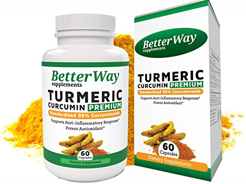 Cheap Organic Tumeric Curcumin Supplement with Bioperine – Anti-Inflammation Antioxidant and Joint Pain Relief Supplement – 500mg Turmeric Pills with 95% Standardized Curcumin Extract in Veggie Capsules