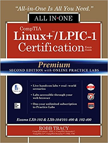 Amazon comptia linux lpic 1 certification all in one exam comptia linux lpic 1 certification all in one exam guide premium second edition with online practice labs exams lx0 103 lx0 104101 400 102 400 2nd fandeluxe Gallery