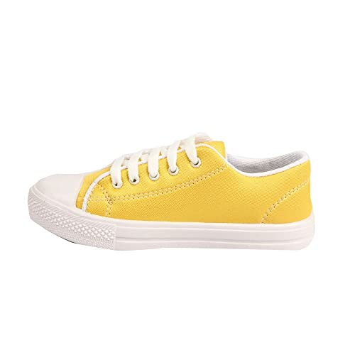 Casual and Formal Shoe in Yellow Colour