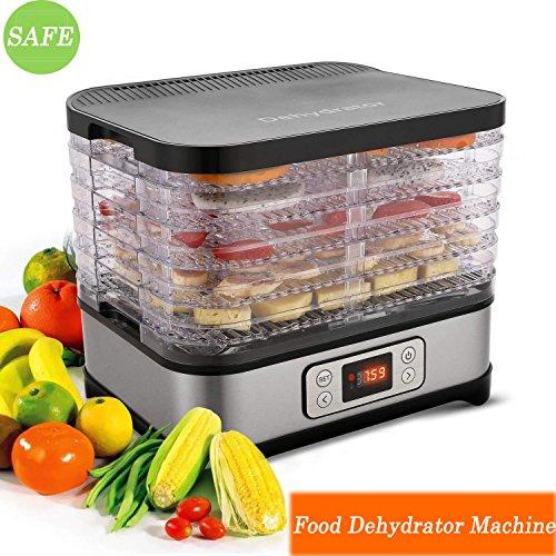 Food Dehydrator Machine, Professional Multi-Tier Electric Fr