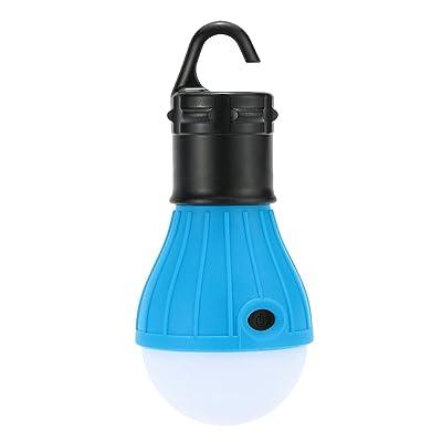 Docooler Camping Tente Ampoule 1pc Pendaison de Plein Air 3 Lumières LED Tente de Camping Ampoule Pêche Portable Lantern Lampe