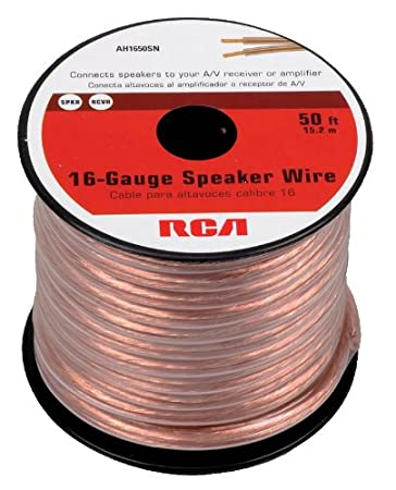 Amazon rca ah16100sr 100 ft 16 gauge speaker wire home audio amazon rca ah16100sr 100 ft 16 gauge speaker wire home audio theater greentooth Gallery