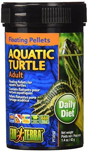 Exo Terra Adult Aquatic Turtle Food, 1.4-Ounce
