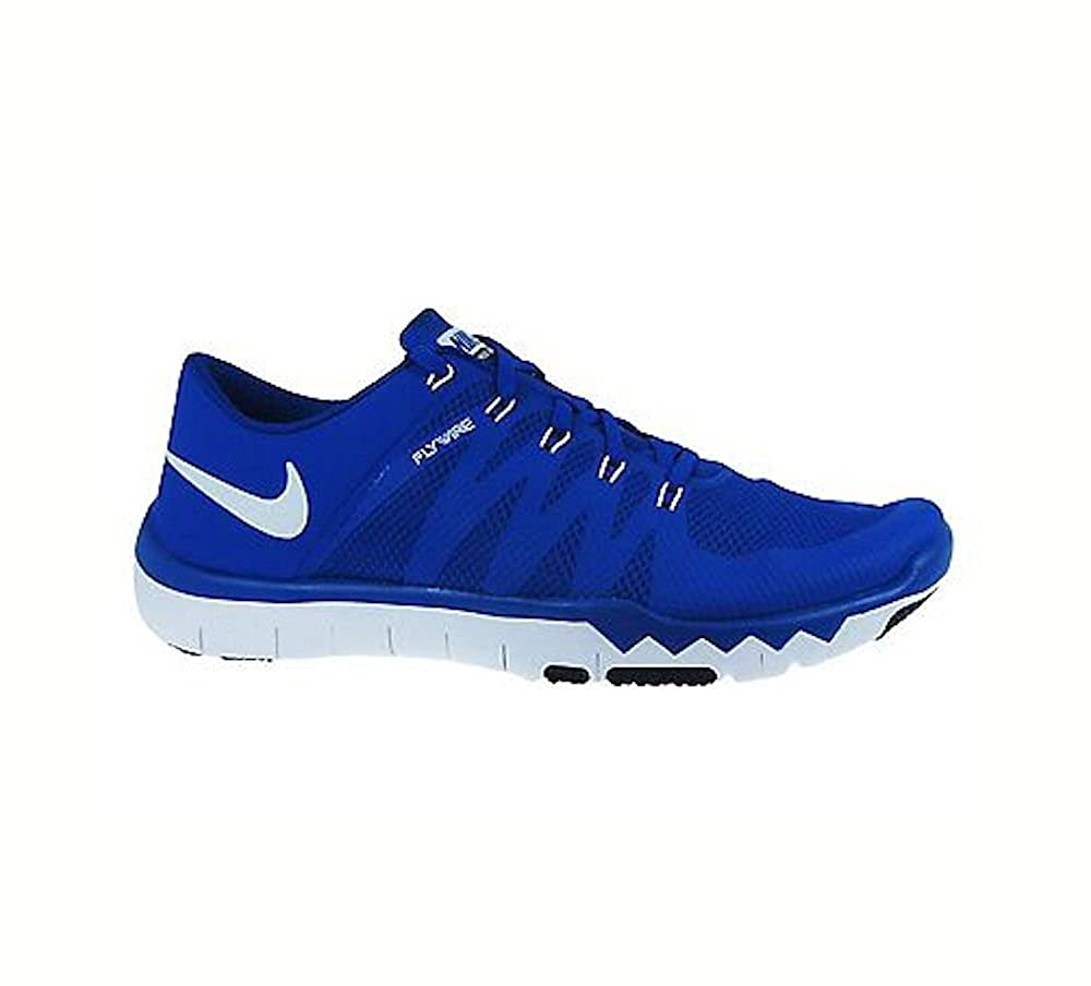 official photos 93c4f b83c1 ... uk amazon nike mens free trainer 5.0 v6 trainer shoes 17 dm us game  royal white