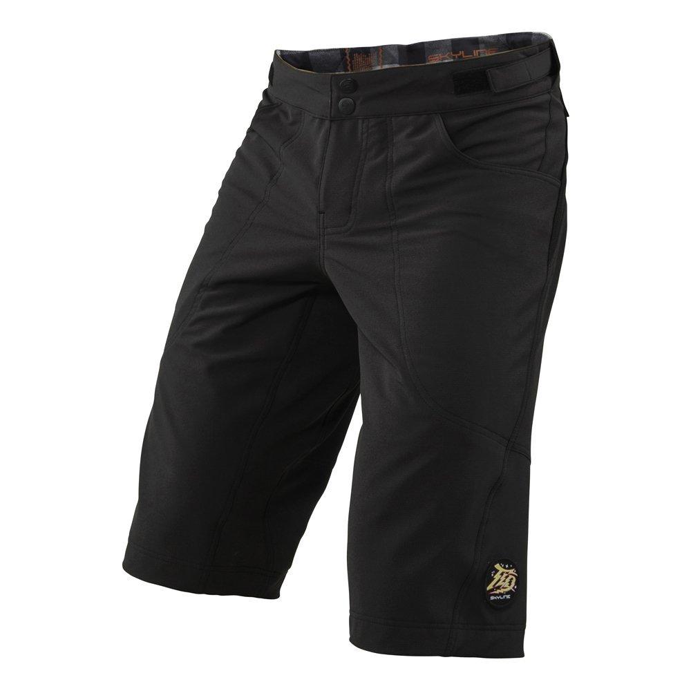 Troy Lee Designs Skyline Men's BMX Bike Shorts - Black / Size 34